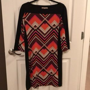 Banana Republic M 3/4 sleeve dress